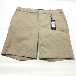 Tommy Hilfiger Womens Hollywood Shorts Tan Size 12